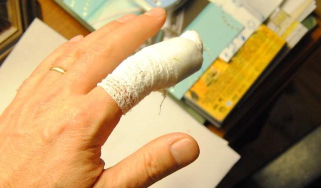 gardening injury