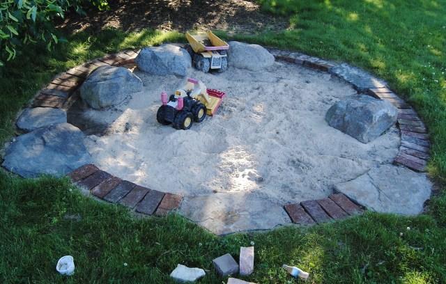 attractive designer sandbox