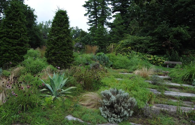chanticleer gravel garden