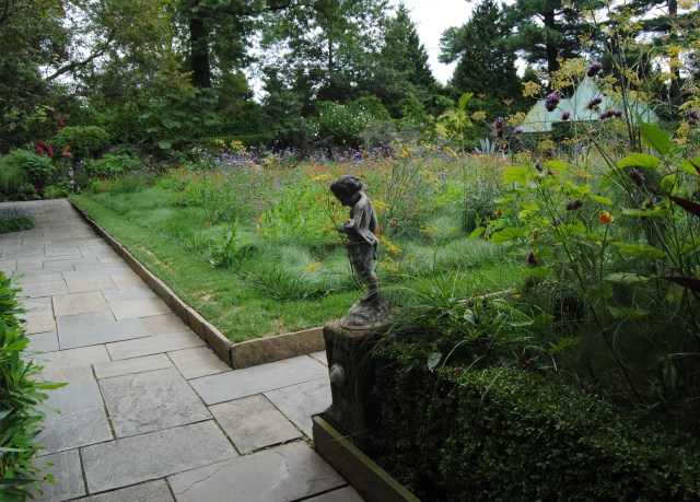 chanticleer red and violet meadow planting