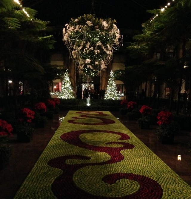 christmas at longwood conservatory