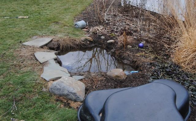pond liner fail