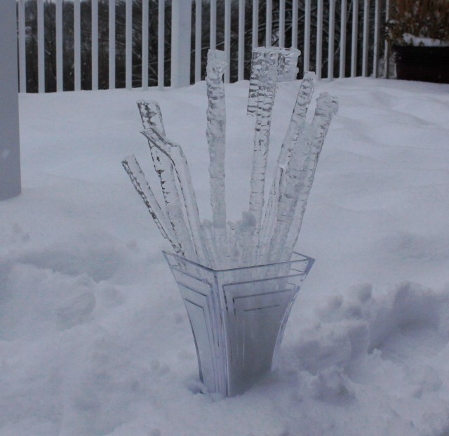 icicle arrangement