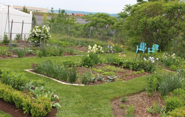 the potager vegetable garden