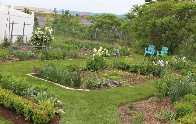 the potager vegetable garden