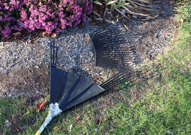 broken rake