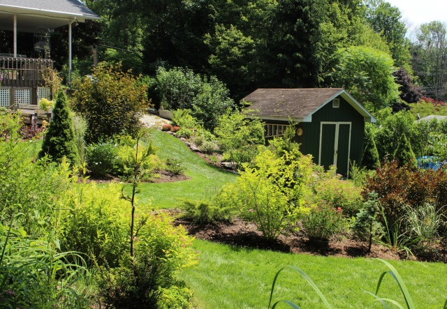 backmountain garden tour