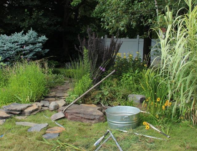 building a bog garden