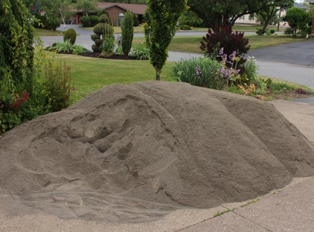sand garden paths