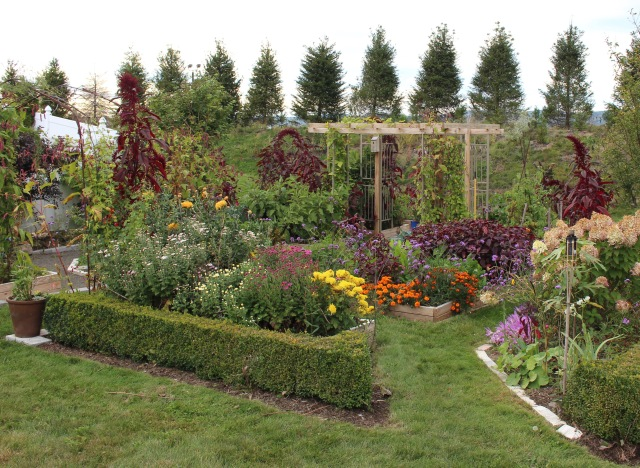 the potager pergola